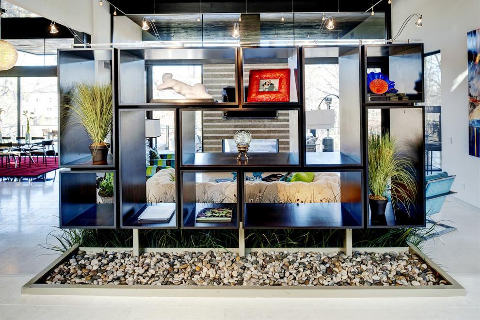 Black Modern Shelves Designs