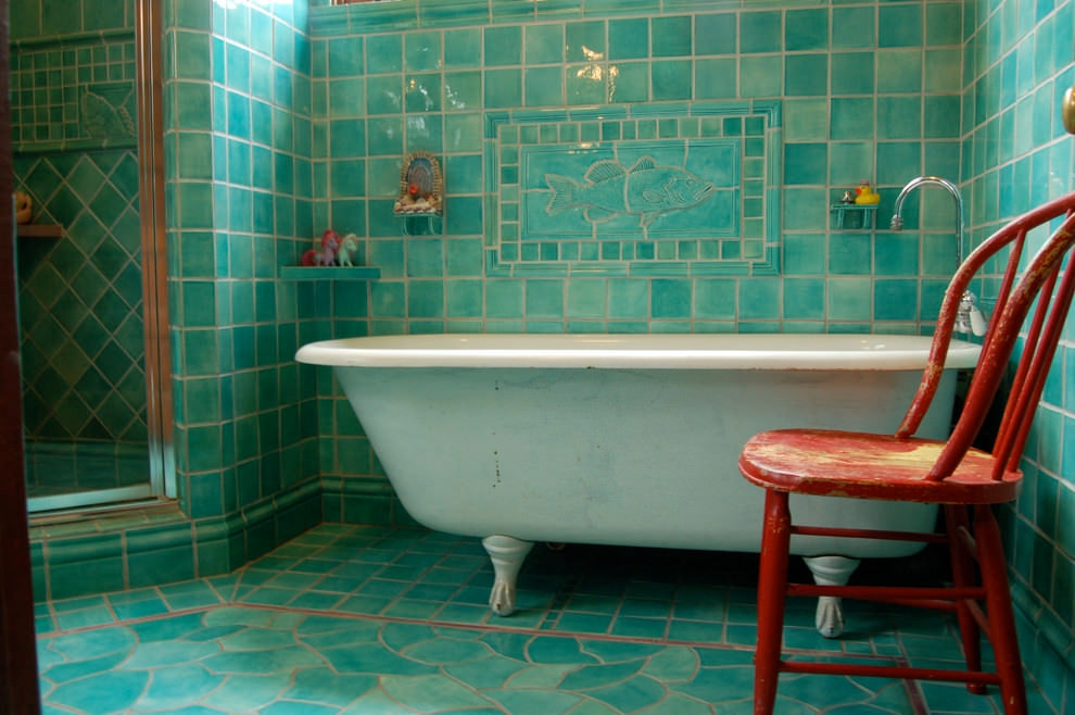 traditional bathroom style