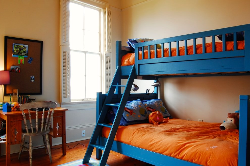 charming modern bunk bed design