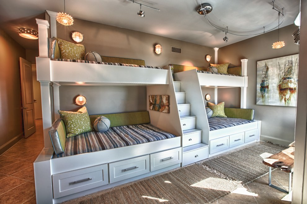 sassy modern bunk bed design