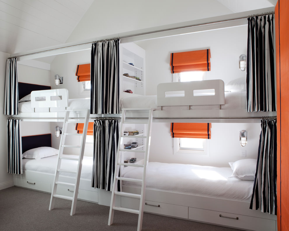 sophisthicated modern bunk bed design
