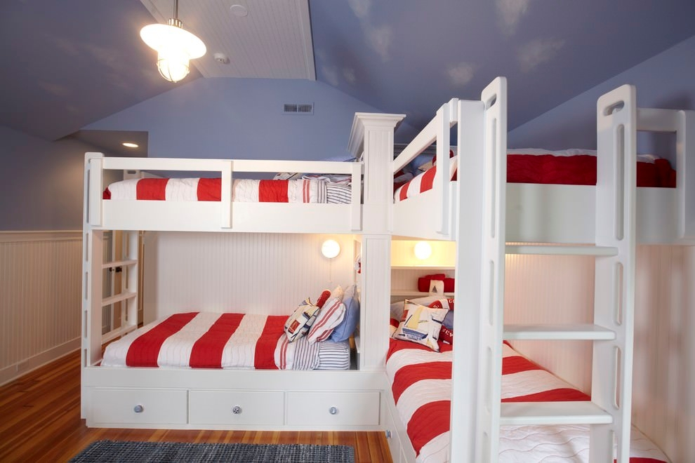 traditional modern bunk bed design
