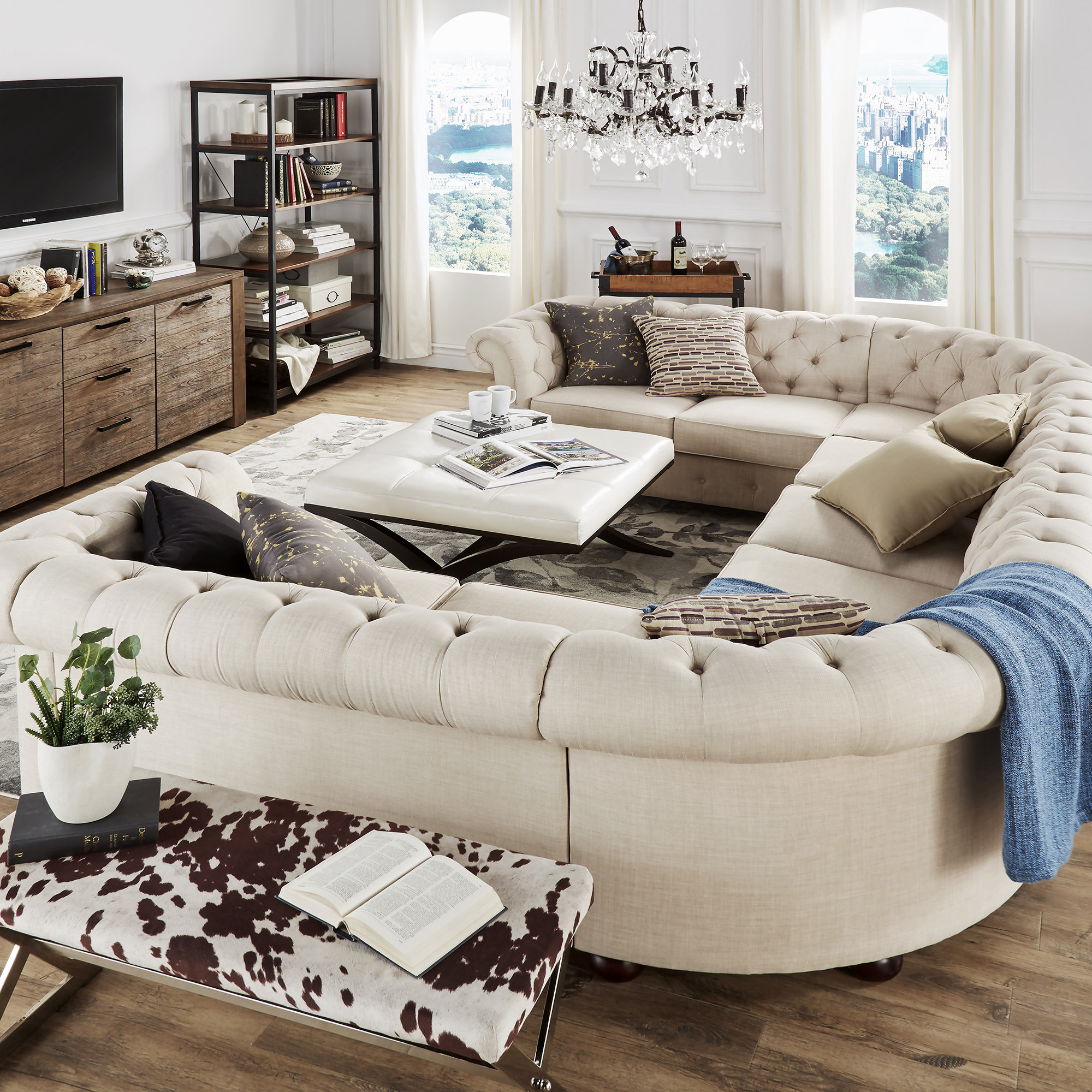 Modern Style Sectional Sofa
