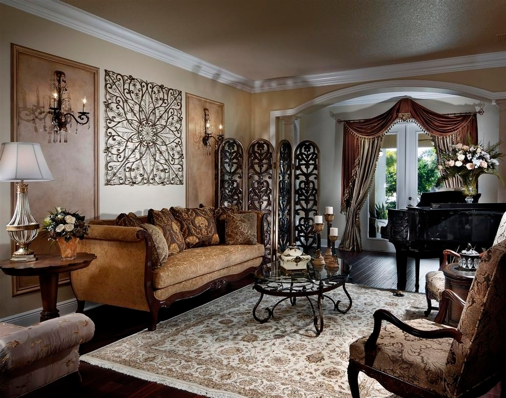 24 decorative small living room designs living room for Antique decorating ideas living room