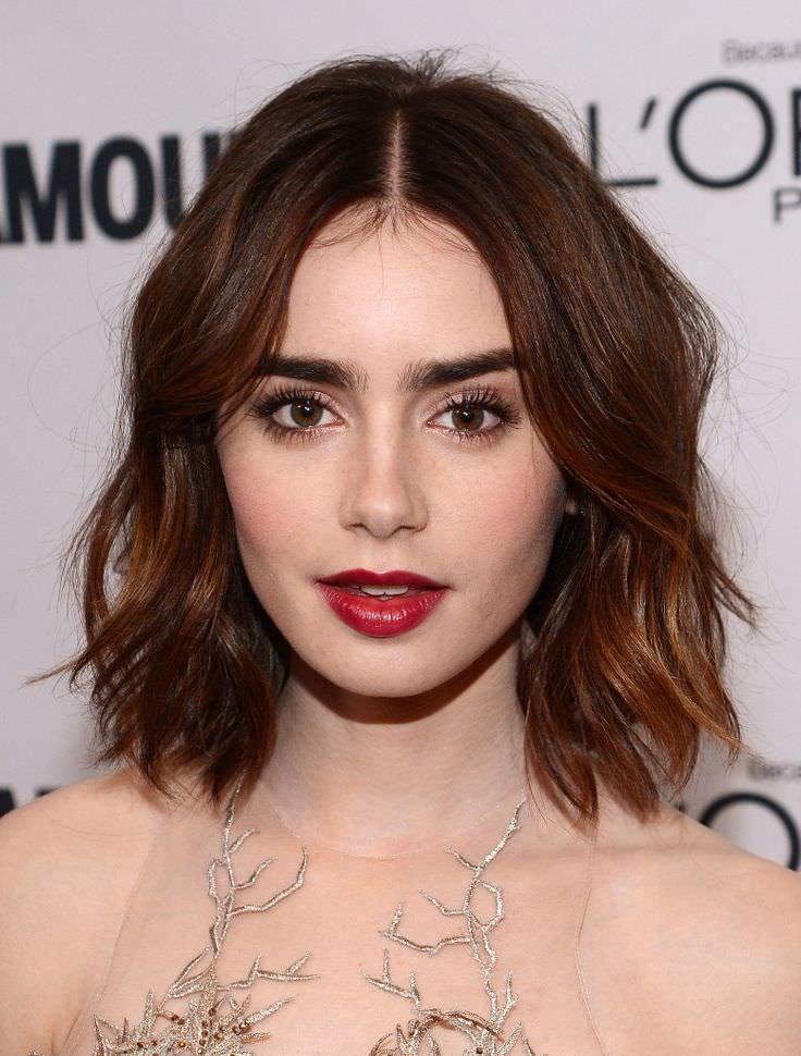 mid hair cut