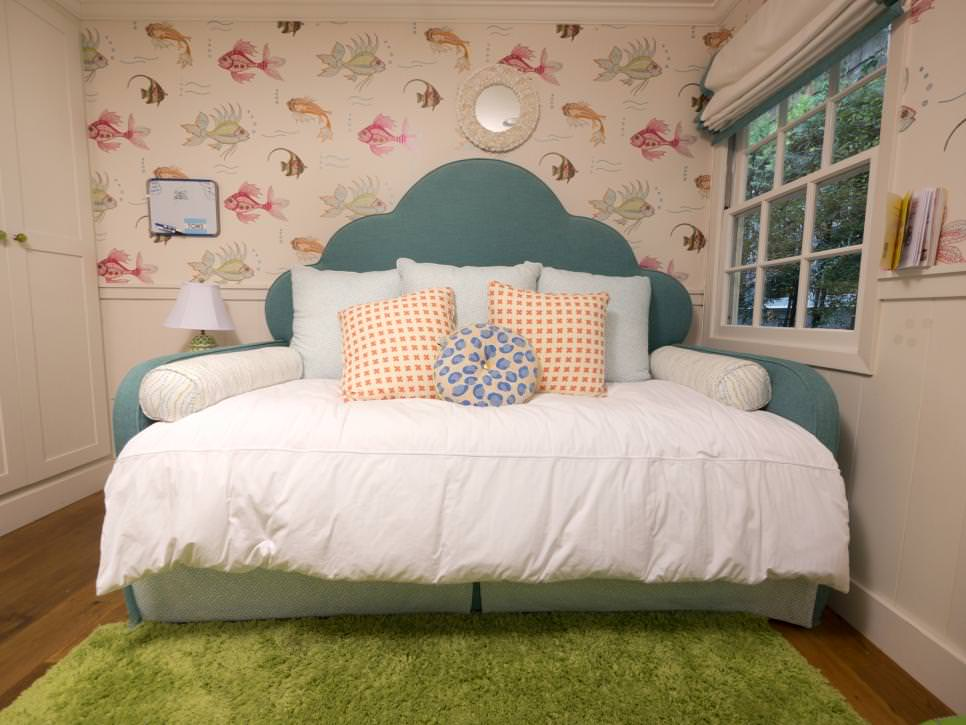 25 kids bed designs decorating ideas design trends for Futon kids room