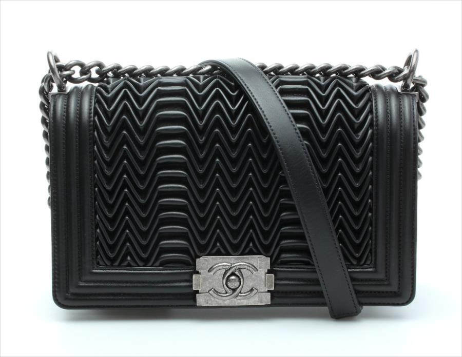 Chanel Lambskin Hand Bag