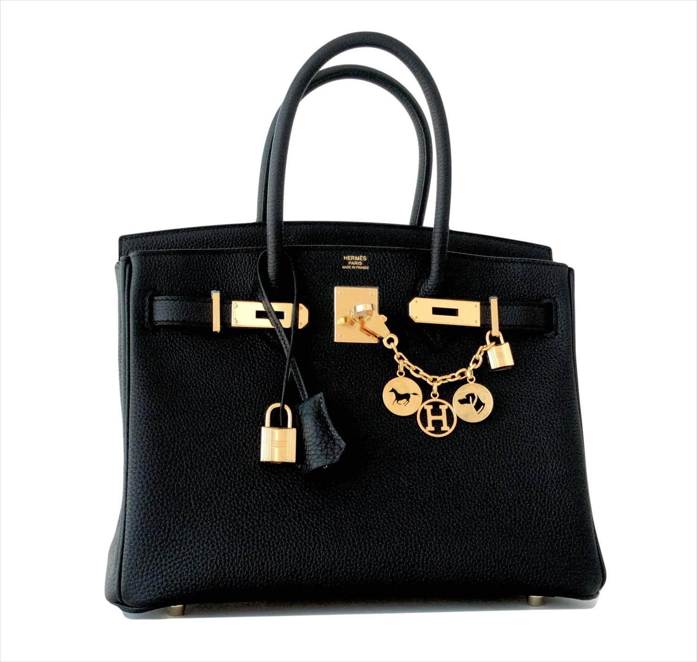 Hermis Togo Gold Bag