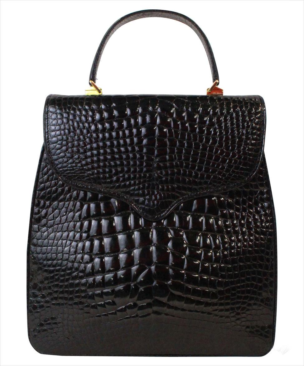 Lana Crocodile Bag