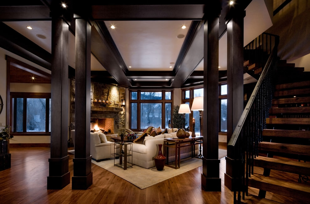 Prefect Black Living Room Design
