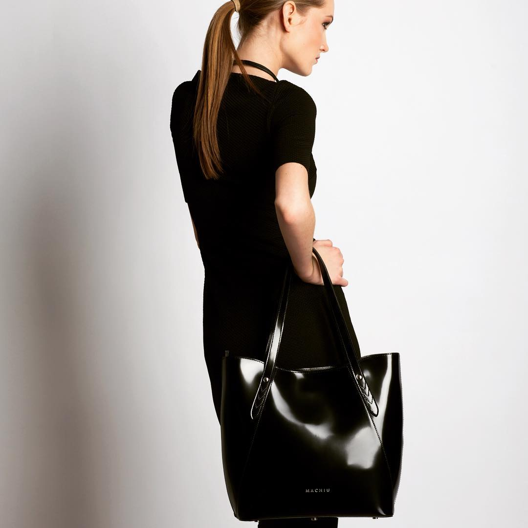 Unique Black Bag
