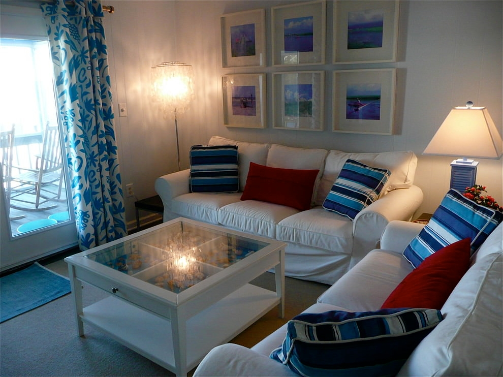 22 beach living room living room designs design trends for Beach themed living room colors