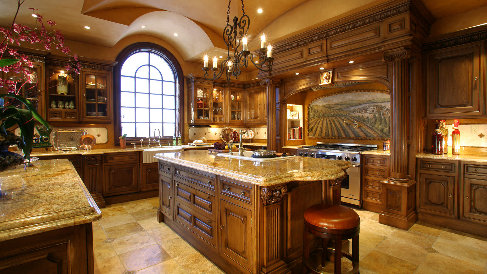 Luxury Kitchen Designs Decorating Ideas Design Trends - Luxury kitchen ideas