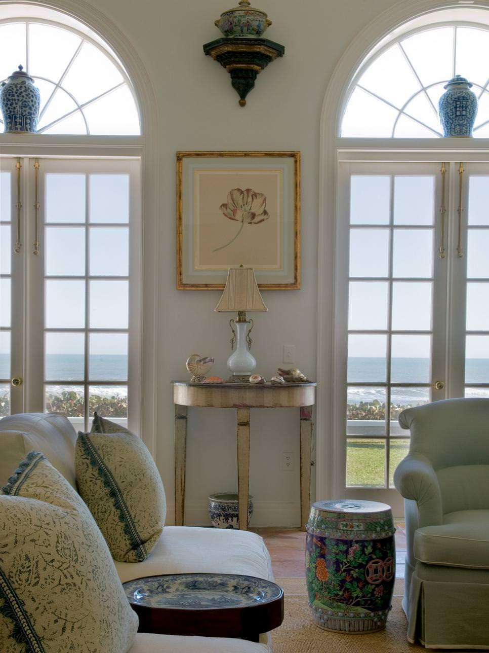 Beach Inspired Living Room Design