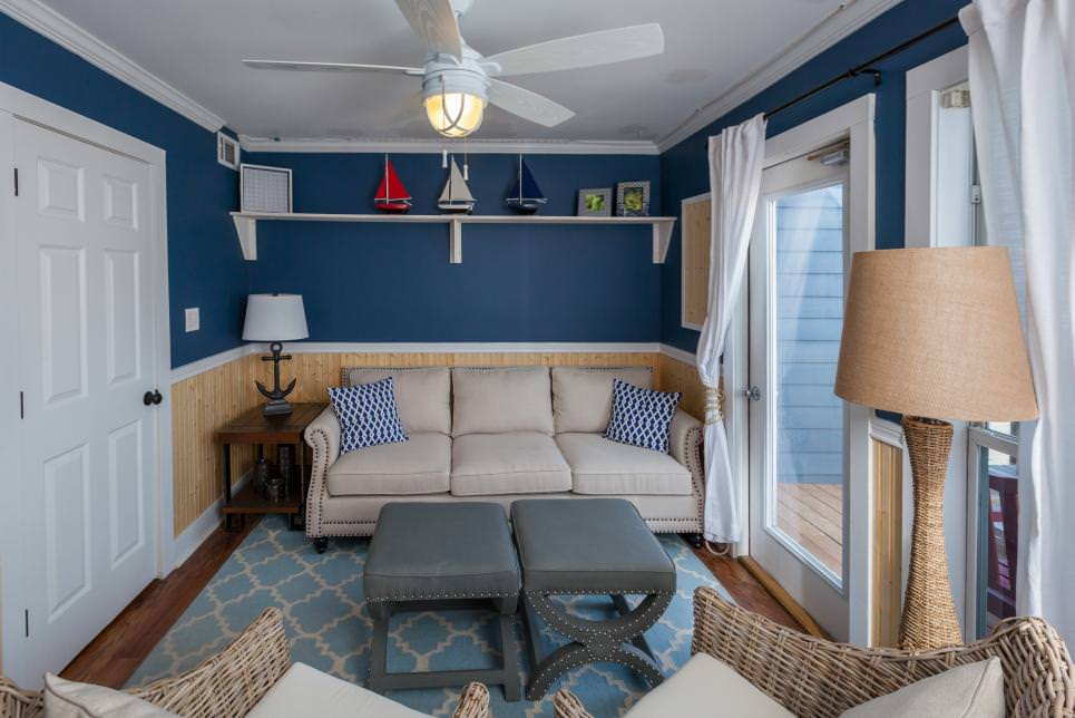 Brilliant Beach Living Room Design