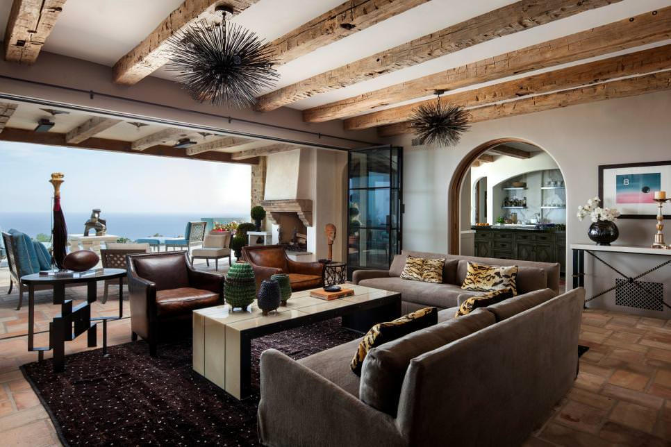 open Beach Living Room Design
