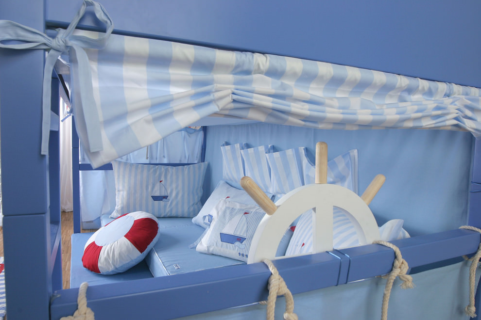 boat style kids bed design