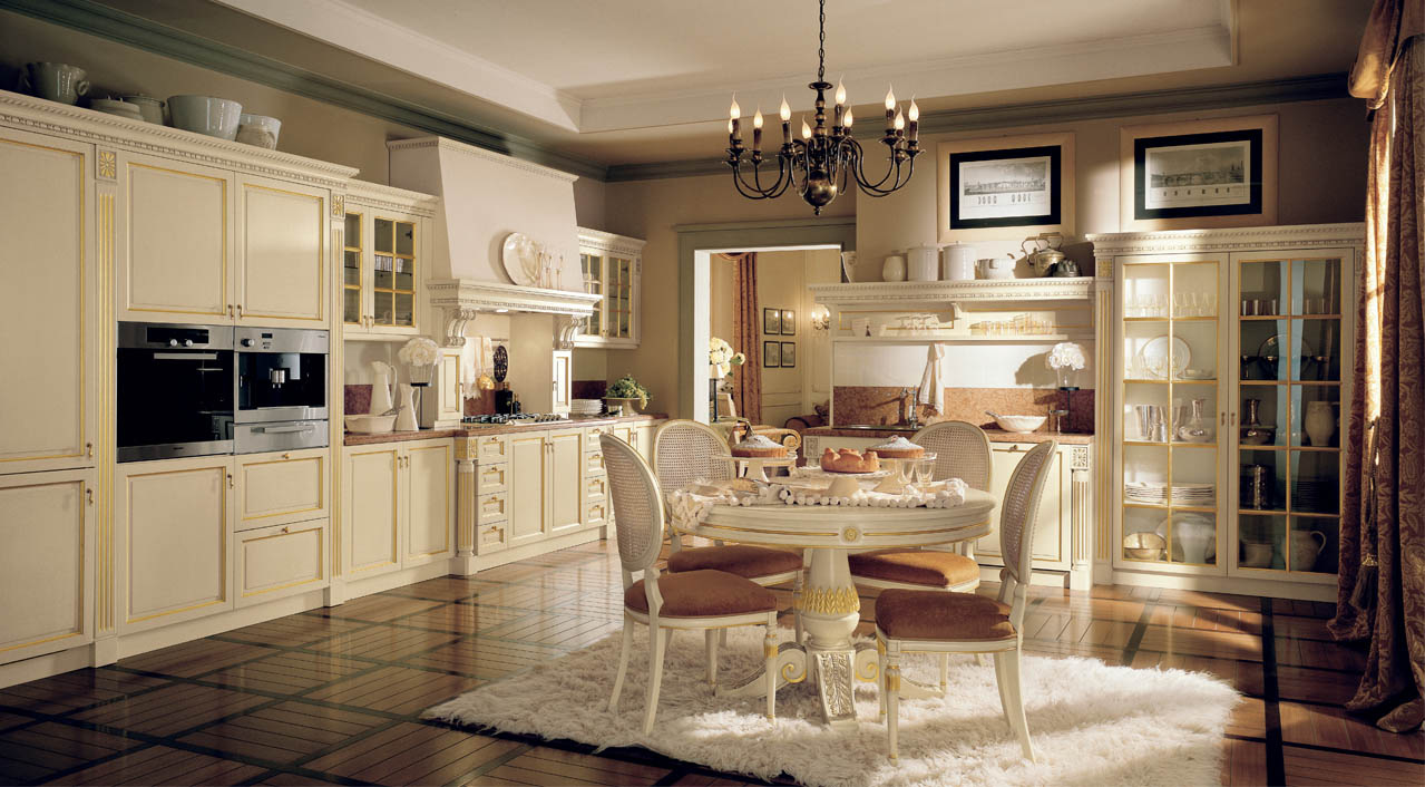 Luxury Italian Custom Made Kitchen