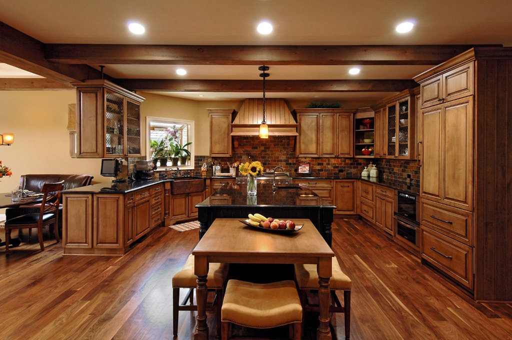 20 luxury kitchen designs decorating ideas design for Luxury kitchen layout
