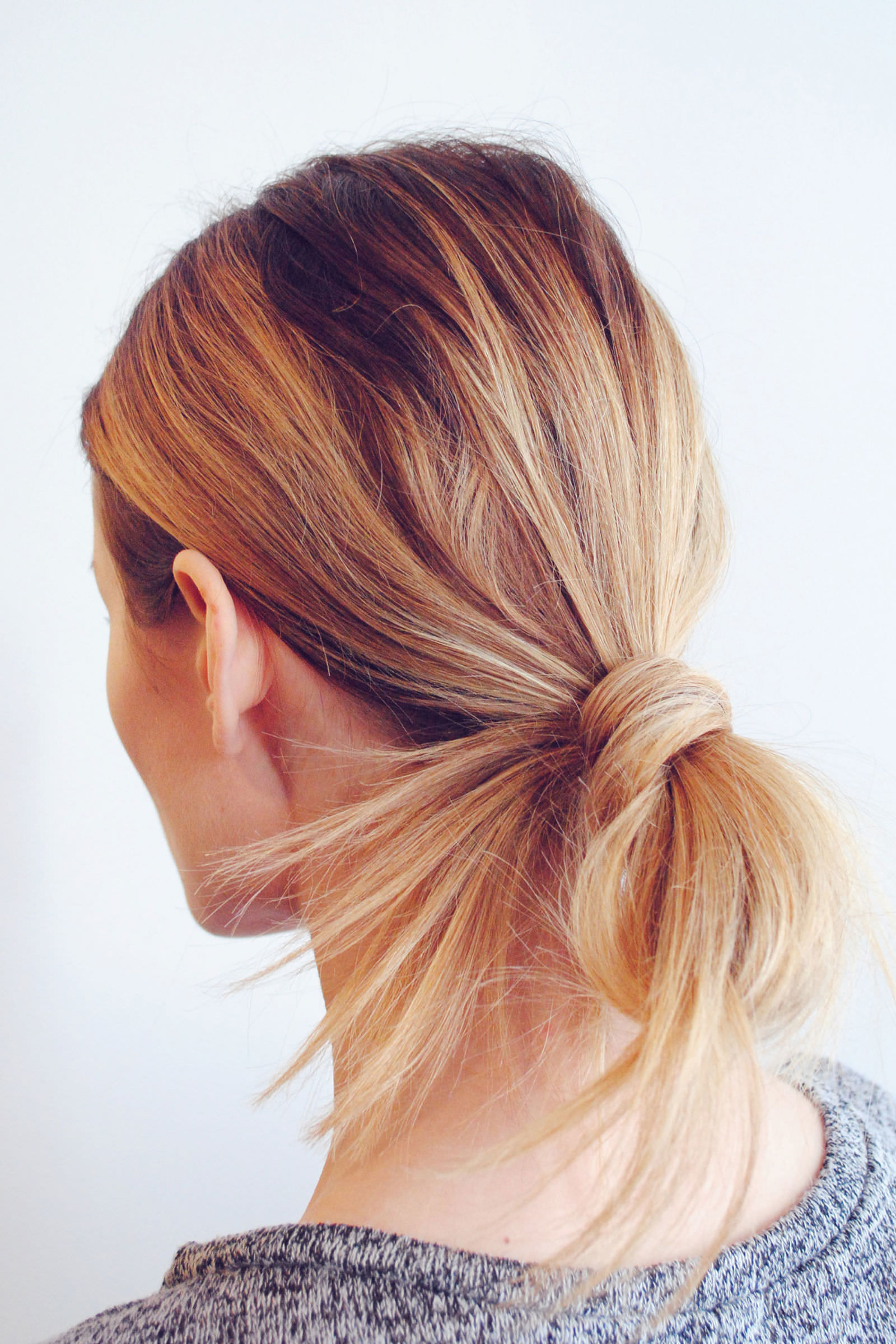 hairstyles pinterest looped ponytail