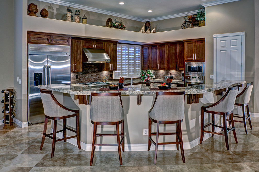 beautiful luxury custom kitchen