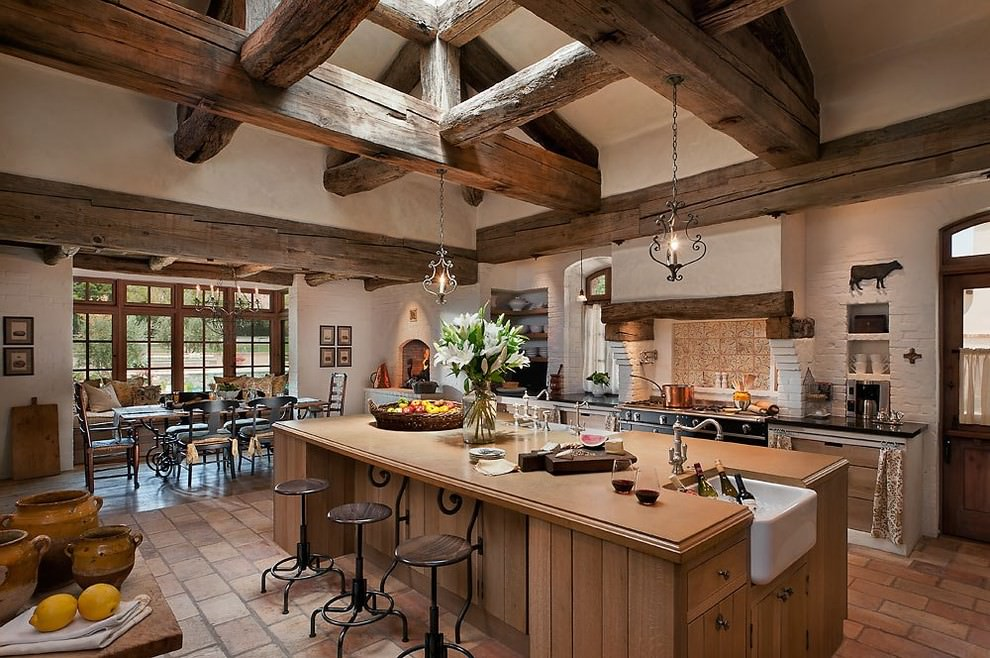 Southwestern Luxury Kitchen