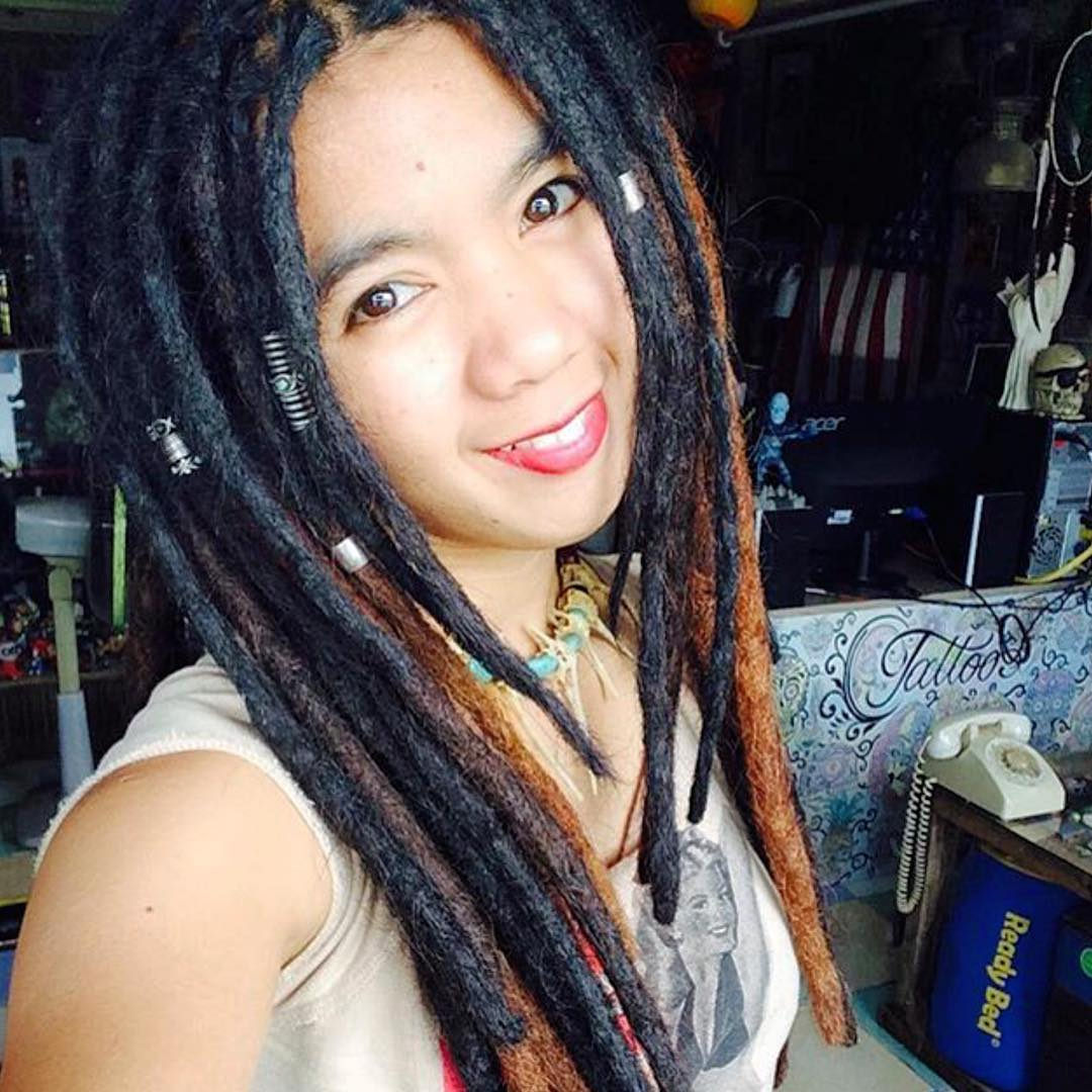 Fashionable Dreadlocks Hairstyle