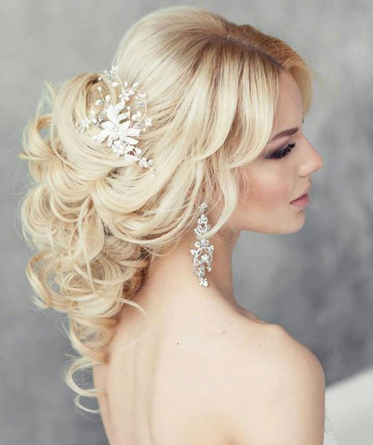 Gold-Formal Hairstyle for Long Hair