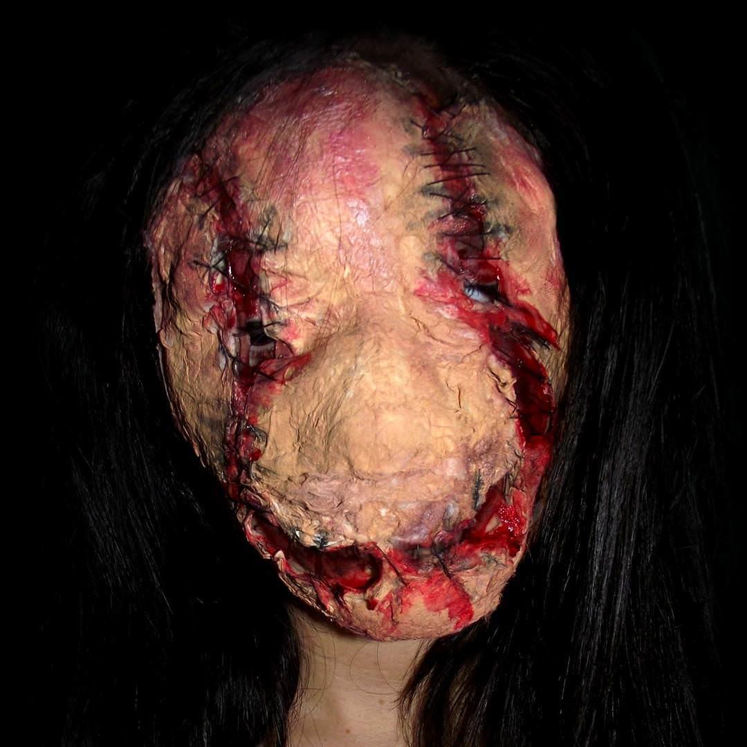 Halloween Mask Type Painting
