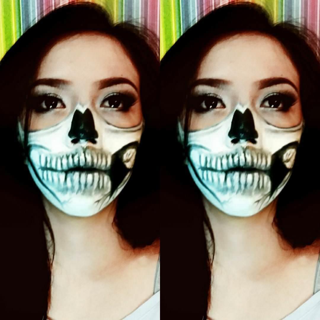 Face Halloween Printing