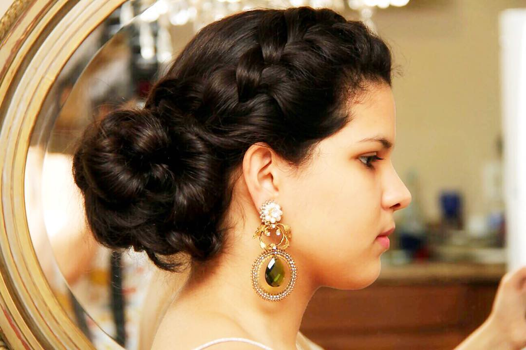 Beautiful -Simple Formal Hairstyle for Long Hair
