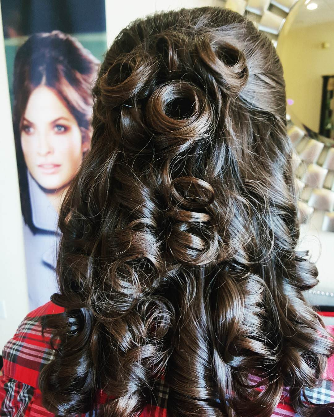Curly & Formal Hairstyle for Long Hair