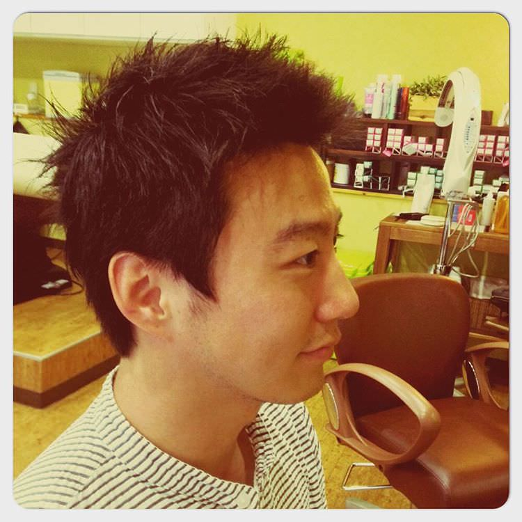 Men Short Messy Hair