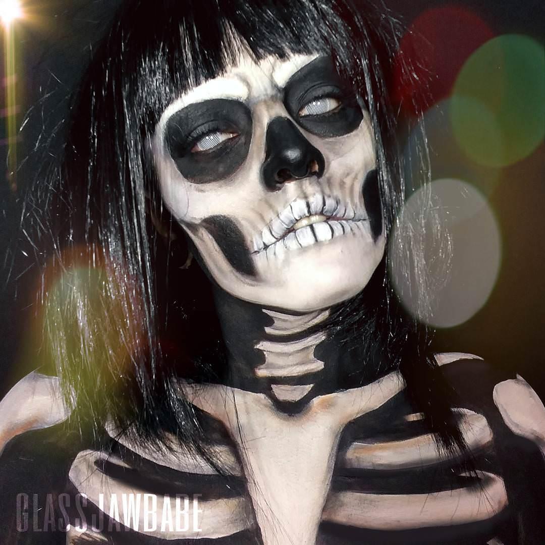 Halloween Skull Painting