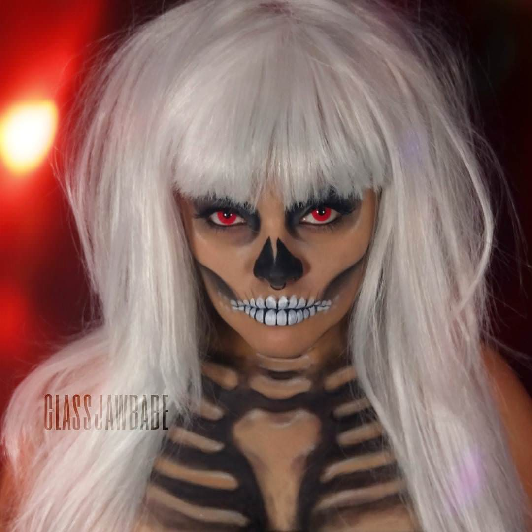 Awesome Paint Primer: 23+ Halloween Body Paintings, Art Ideas, Pictures, Images