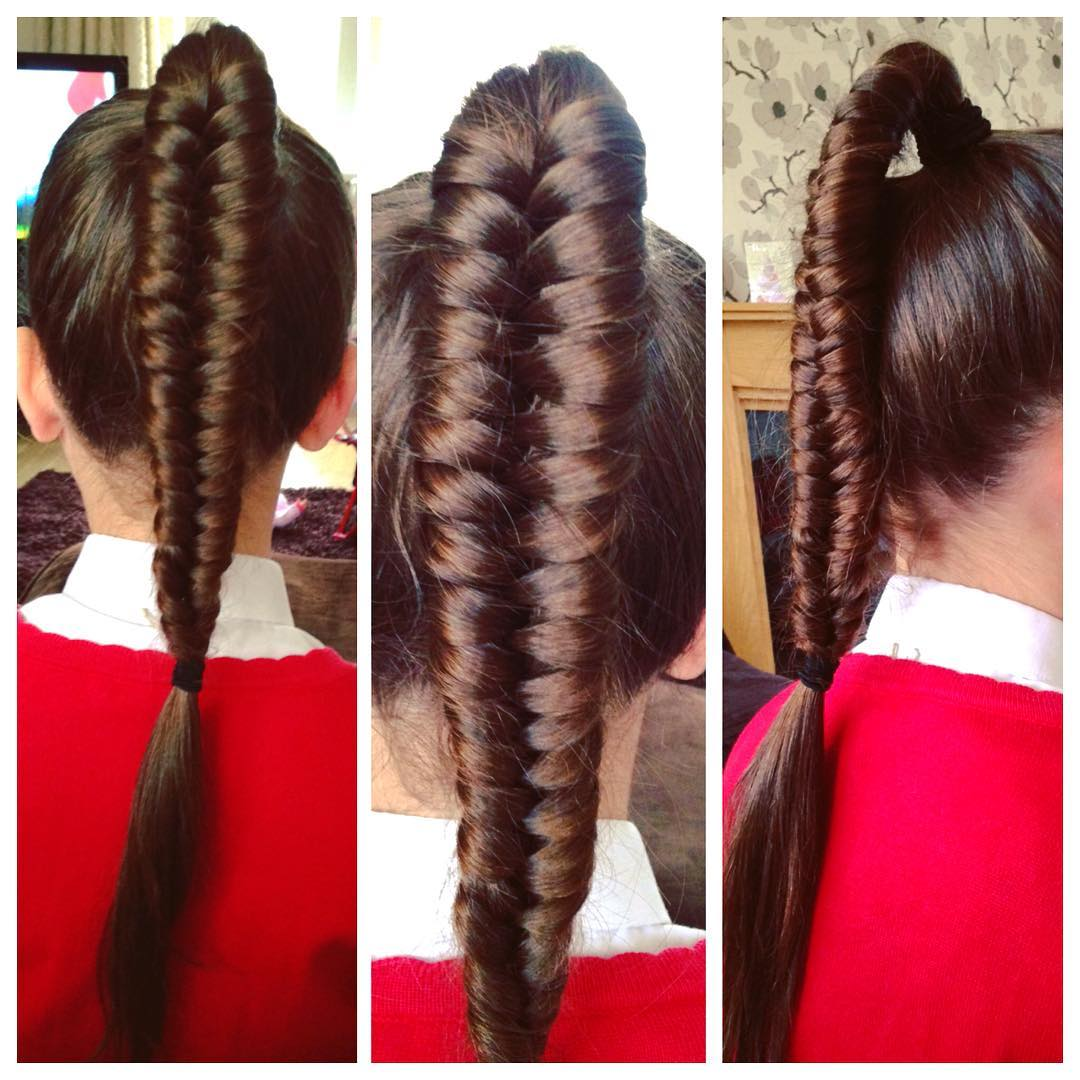 Long Fish Plait Braid