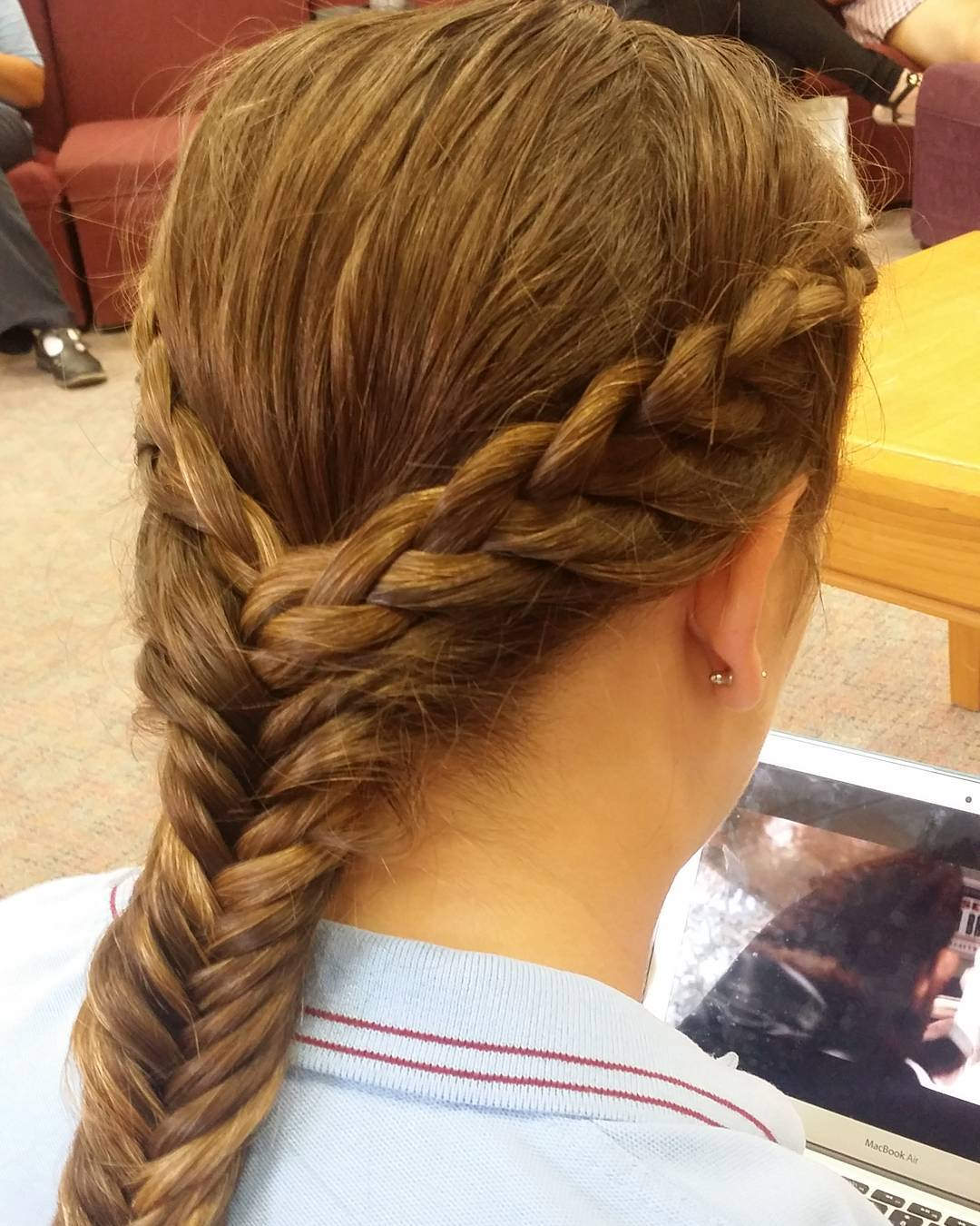 French Lace Long Braid