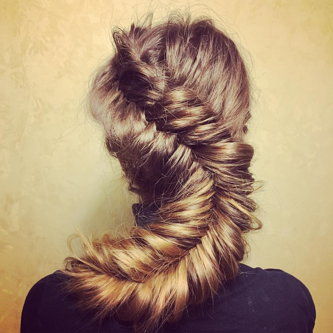 Long Different Fish Braid