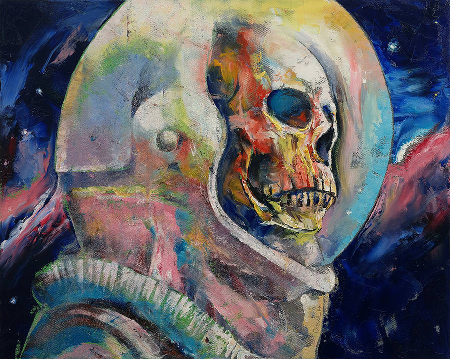 Awesome Painting of Astronaut
