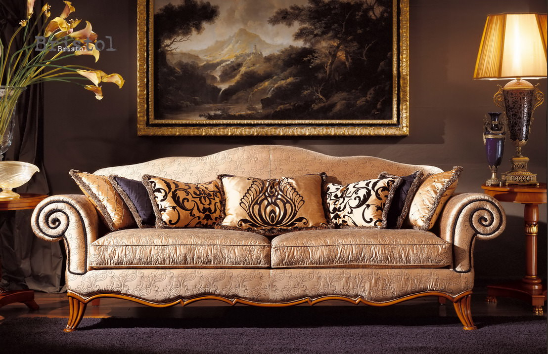 20 royal sofa designs ideas plans design trends for Elegant furniture