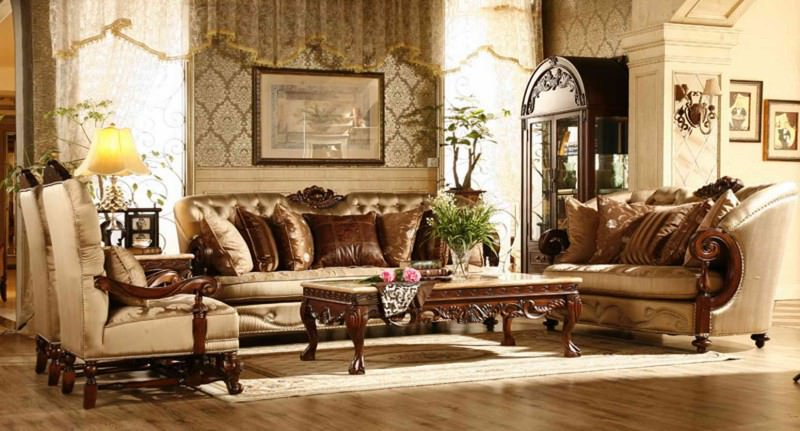 Elegant Royal Sofa Set Design