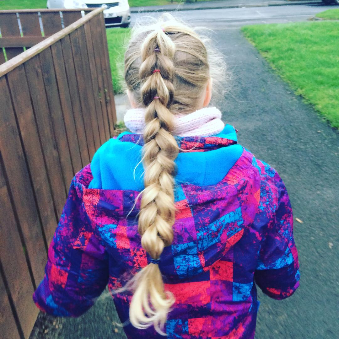 Long Plait Hairstyle