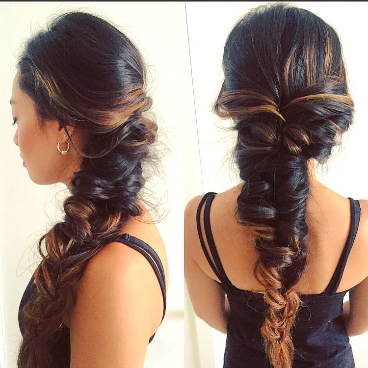 Mermaid Braided Hairstyle