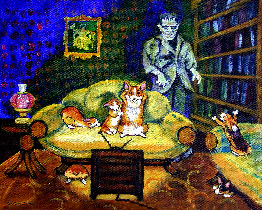 27 Halloween Paintings Art Ideas Pictures Images
