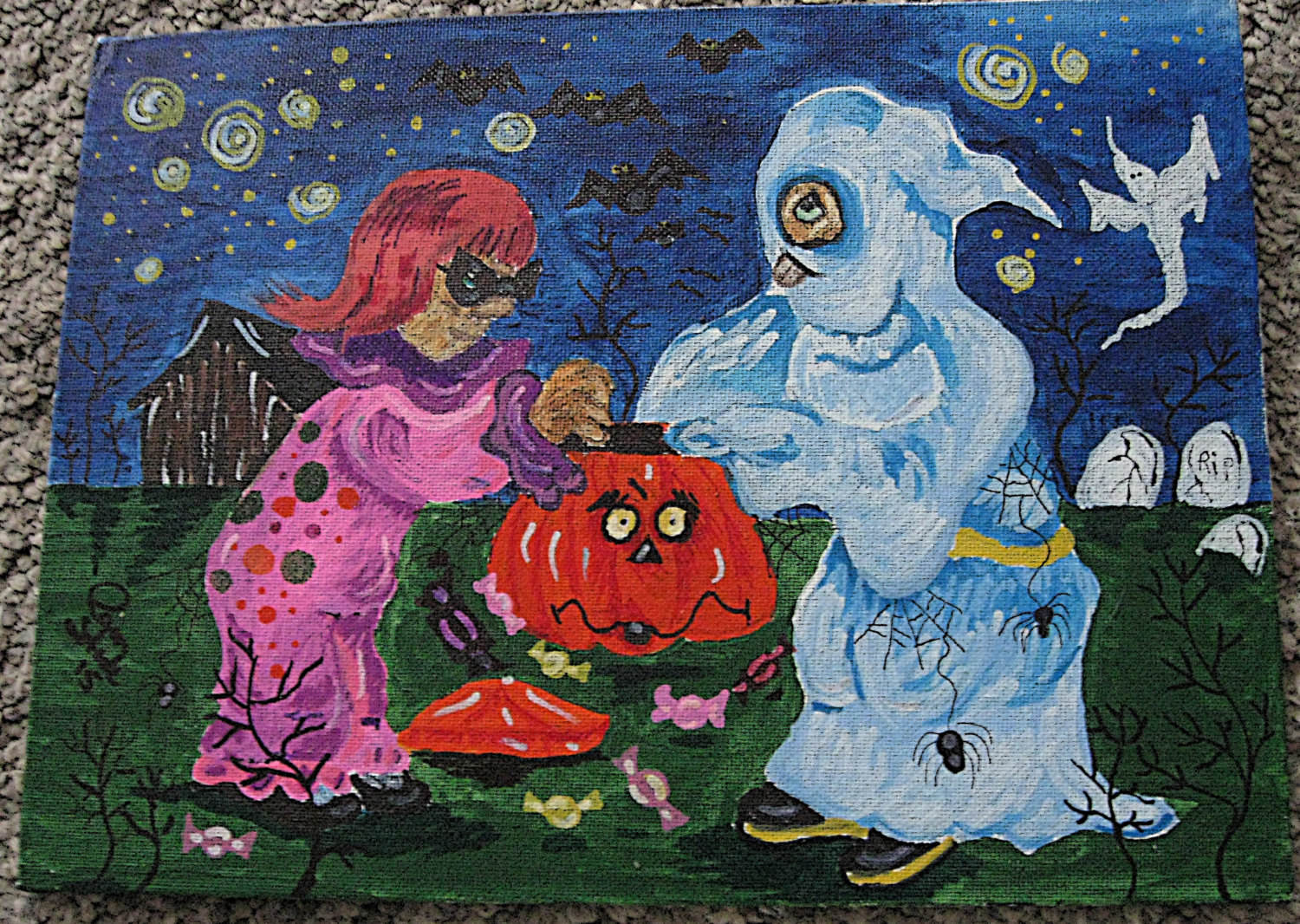 Halloween Painting of Childrens