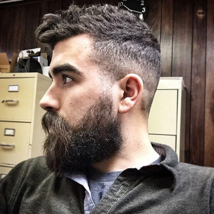 Fabulous Hawk Haircut for Men