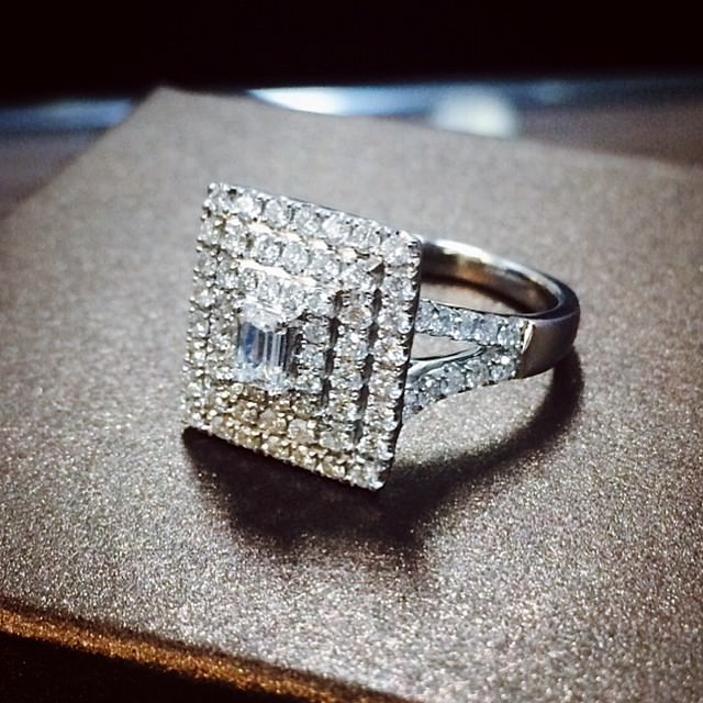Square Ring For Women