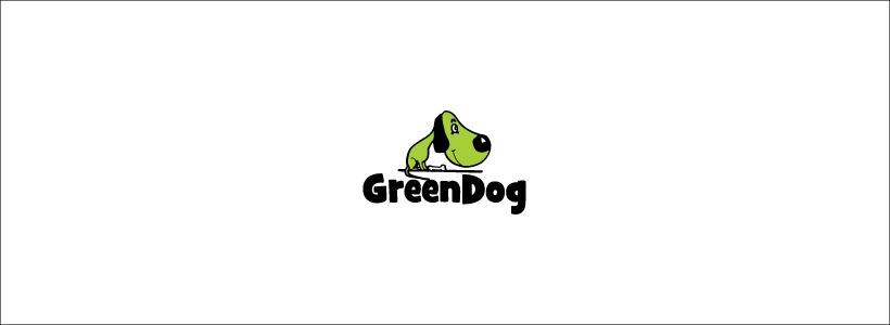 funny dog logo