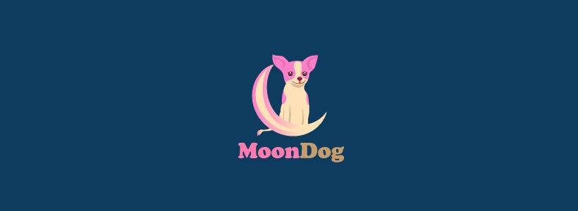 nice dog logo