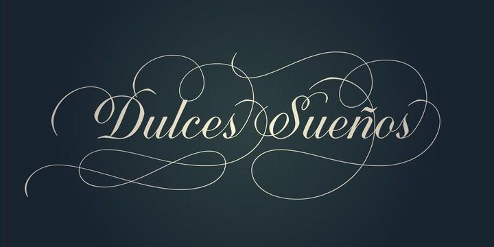 Quarzo cursive font